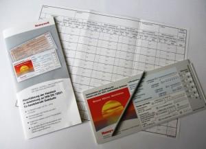 Heizlast-Datenschieber von Honeywell