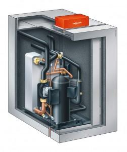 Sole-Wasser-Wärmepumpe Vitocal-300-G - Abbildung: Viessmann