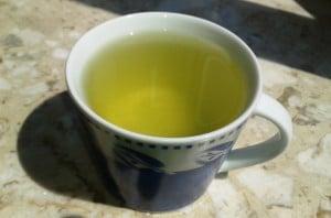 Tee zur Mittagspause