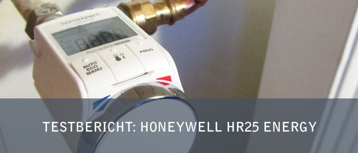 Testbericht: Honeywell HR25 Energy