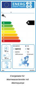 energielabel-warmwasserbereiter-waermepumpe