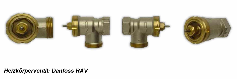 Heizkoerperventil Danfoss RAV