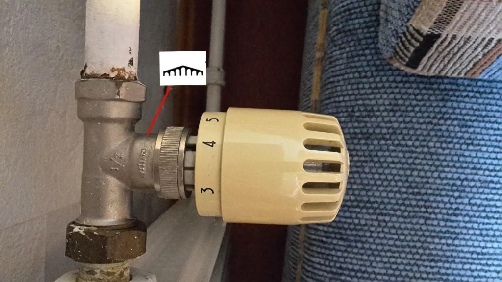 Pont a Mousson Heizkörperventil und Thermostat, Quelle aus Kommentaren (Holger Schilling)