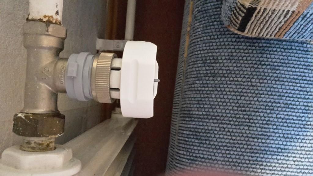 Montage Thermostatkopf Unterteil Honeywell HR20 auf Pont a Mousson Ventil, Quelle aus Kommentaren (Holger Schilling)