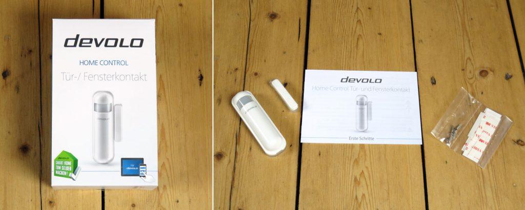 Devolo Home Control – Tür- und Fensterkontakt mit Bedienungsanleitung