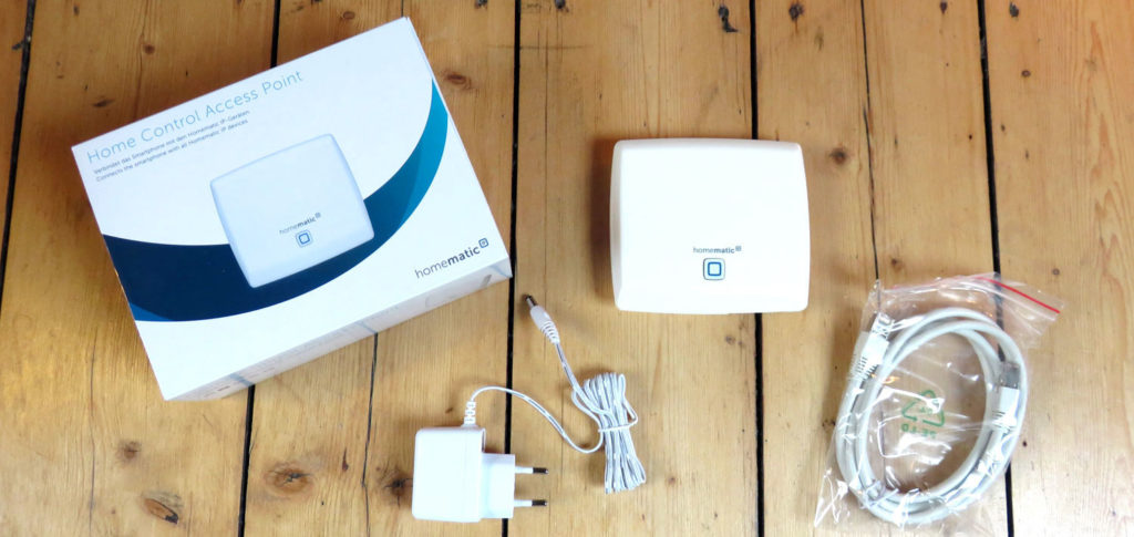 HomeMatic IP Home Control Access Point