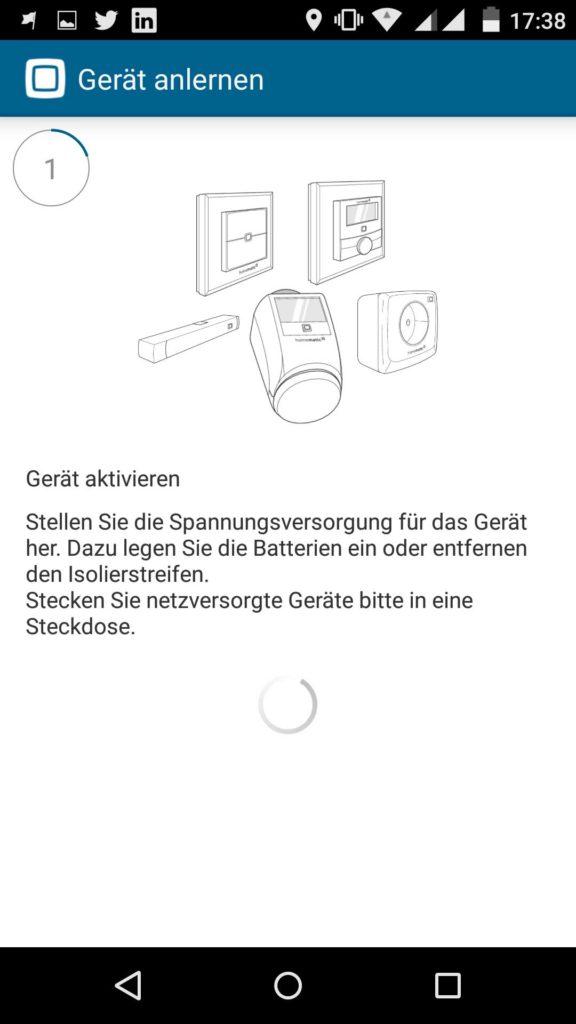 HomematicIP-App-Heizkoerperthermostat-Geraet-aktivieren