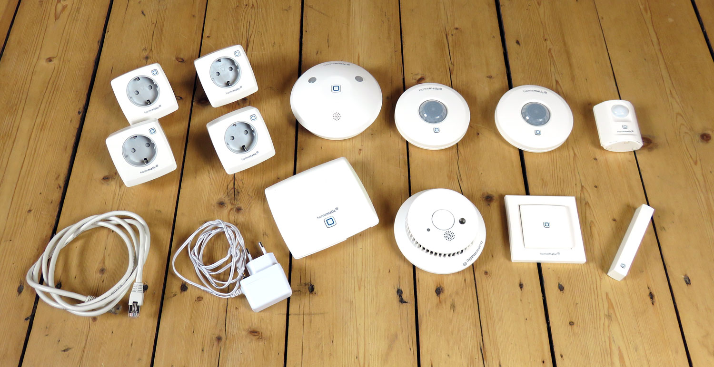 Homematic IP Sicherheits- und Beleuchtungskomponenten im Überblick
