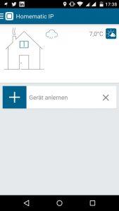 Homematic IP App Schalt-Mess-Steckdose - Gerät anlernen