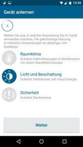 Homematic IP App Schalt-Mess-Steckdose - Auswahl