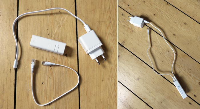 Zusammenbau der tado° Internet Bridge