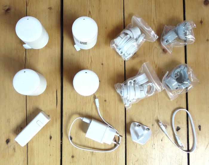tado° Komponenten für den Test