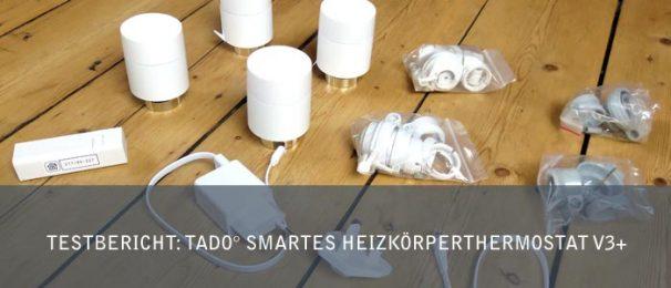 Testbericht tado° smartes Heizkoerperthermostat V3+