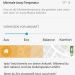 tado-app-away-einstellungen