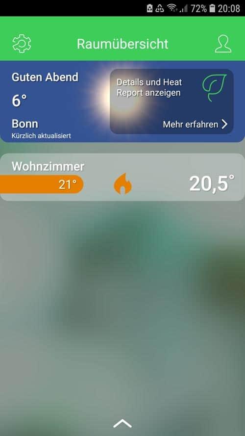 Wiser App - Startseite
