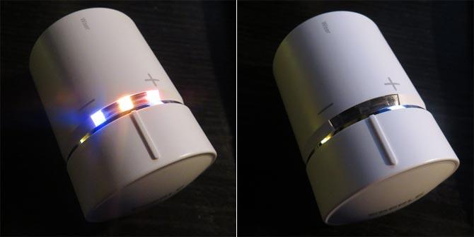 WISER Thermostat mit leuchtenden LED's