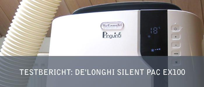 Testbericht: Mobile Klimaanlage De'Longhi Pinguino PAC EX100 SILENT