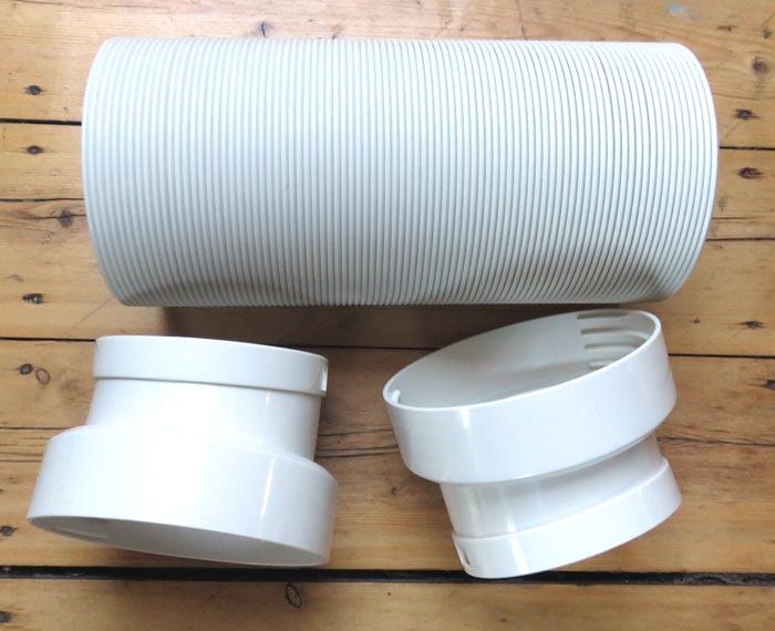 Abluftschlauch für mobile Kälteanlage