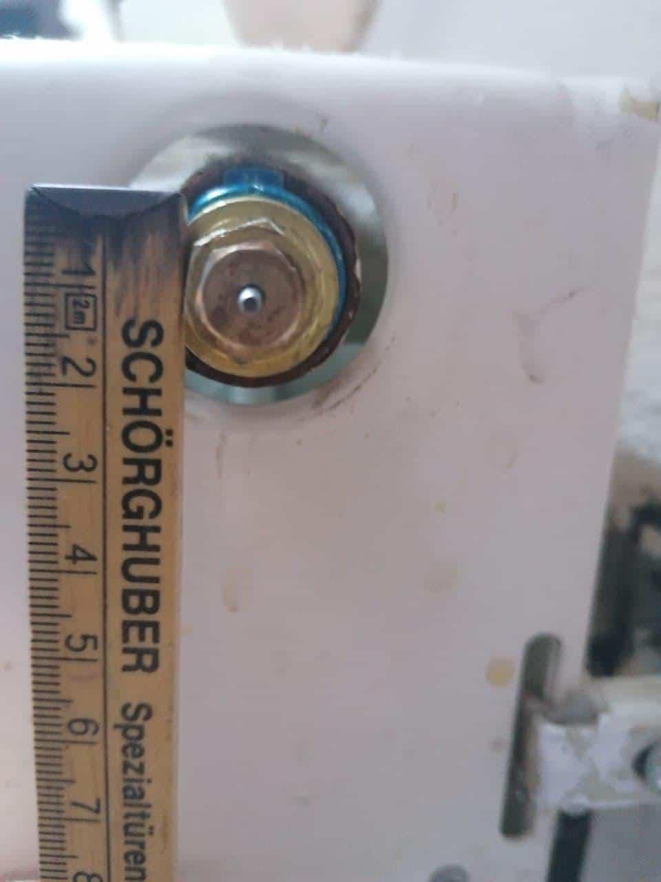 Danfoss Thermostat RA ohne Voreinstellung Quelle: Rainer W. aus Kommentaren