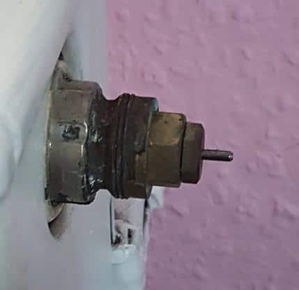 Danfoss Thermostat RA ohne Voreinstellung Quelle: Yakini aus Kommentaren