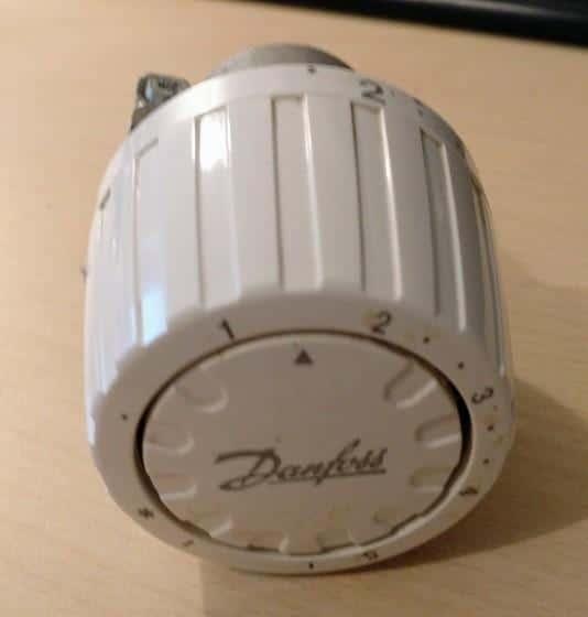 Danfoss RAVL Thermostat, Quelle: Patrick aus Kommentaren