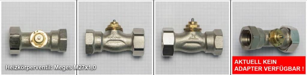 Heizkoerperventil Meges M27 x 1,0 Quelle: eQ-3 AG/Staudigl