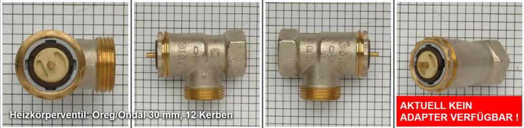 Heizkörperventil Oreg/Ondal 33 mm, 12 Kerben Quelle: eQ-3 AG/Staudigl