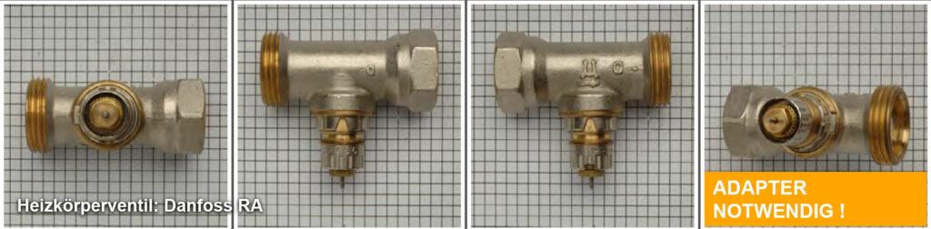 Heizkörperventil Danfoss RA (neu), Quelle: eQ-3 AG/Staudigl