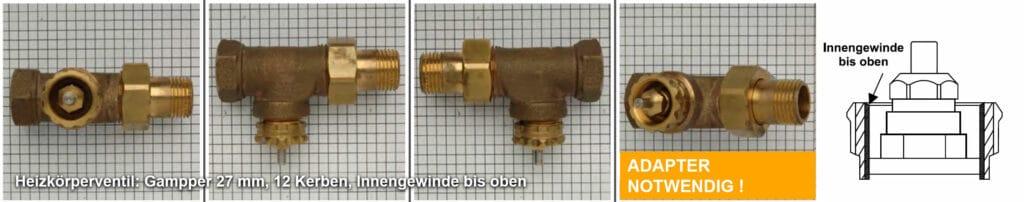 Heizkörperventil Gampper M20 bis 10 mm Tiefe (12 Kerben) , Quelle: eQ-3 AG/Staudigl