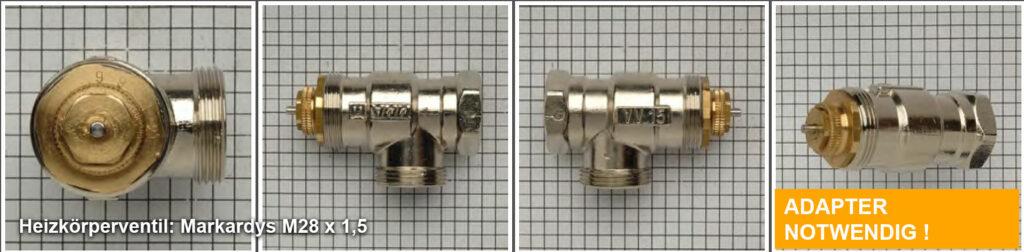 Heizkoerperventil Markardys M28 x 1,5, Quelle: eQ-3 AG/Staudigl
