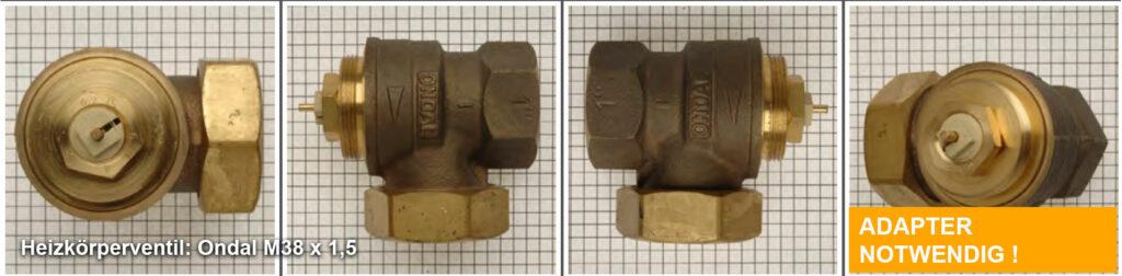 Heizkörperventil Ondal M38 x 1,5 Quelle: eQ-3 AG/Staudigl
