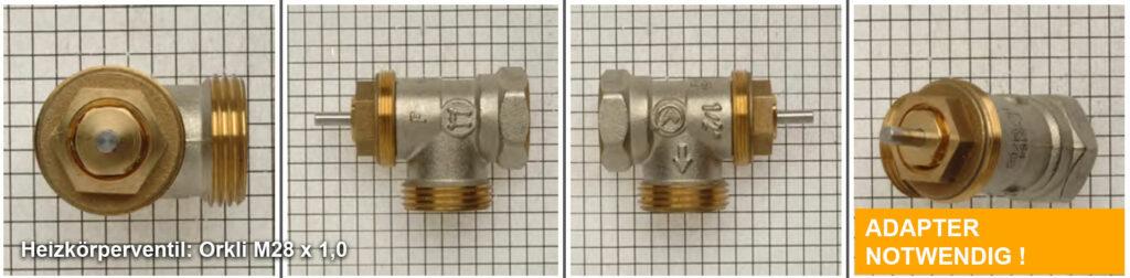 Heizkörperventil Orkli M28 x 1,0 - Quelle: eQ-3 AG/Staudigl