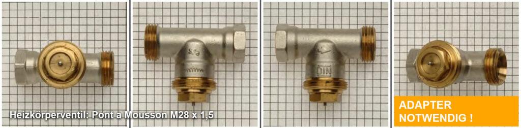 Heizkörperventil Pont a Mousson M28 x 1,5, Quelle: eQ-3 AG/Staudigl