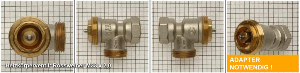 Heizkörperventil Rossweiner M33 x 2,0 Quelle: eQ-3 AG/Staudigl