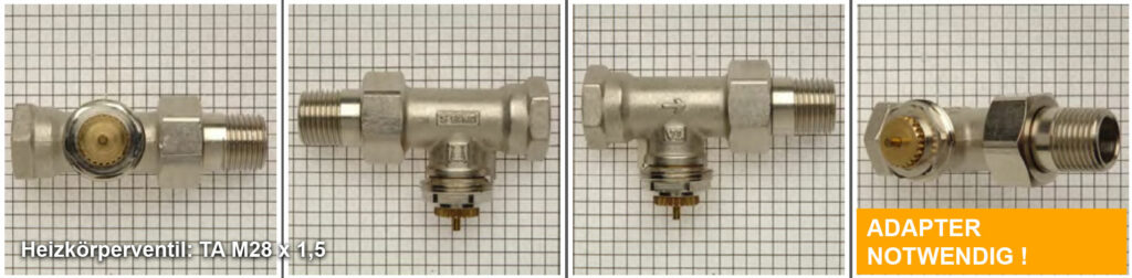 Heizkörperventil TA M28 x 1,5, Quelle: eQ-3 AG/Staudigl