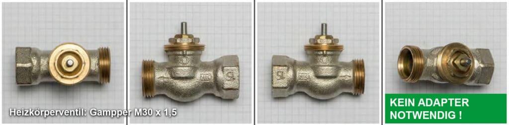 Heizkörperventil Gampper M30 x 1,5 - Quelle: eQ-3 AG/Staudigl