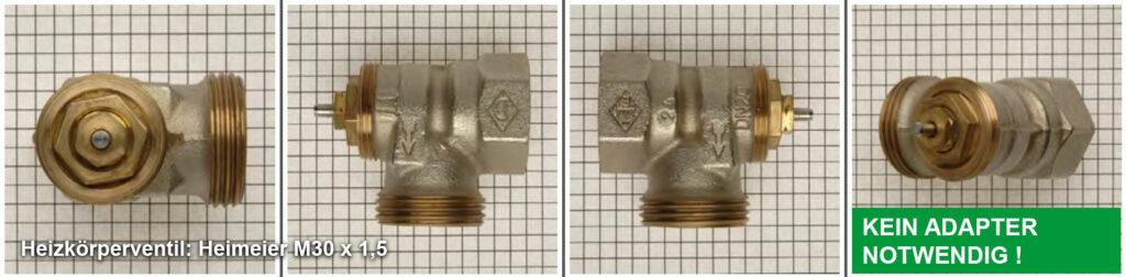Heizkörperventil Heimeier M30 x 1,5 - Quelle: eQ-3 AG/Staudigl
