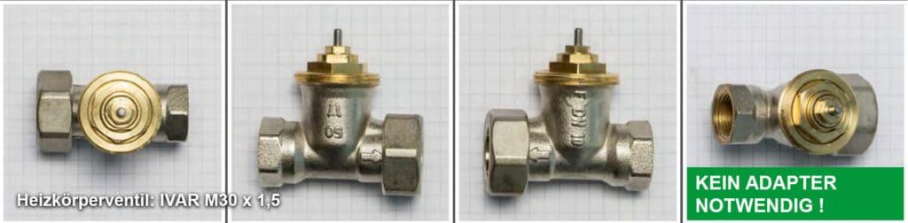 Heizkörperventil IVAR M30 x 1,5 - Quelle: eQ-3 AG/Staudigl