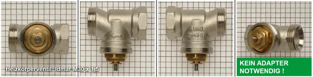 Heizkörperventil Idmar M30 x 1,5 - Quelle: eQ-3 AG/Staudigl