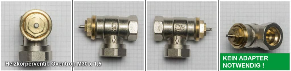 Heizkörperventil Oventrop M30 x 1,5 - Quelle: eQ-3 AG/Staudigl