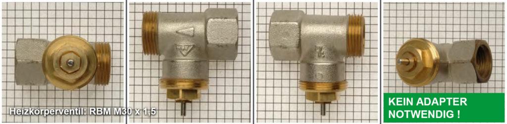 Heizkörperventil R.B.M M30 x 1,5 - Quelle: eQ-3 AG/Staudigl