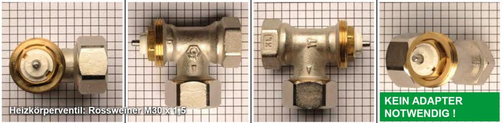 Heizkörperventil Rossweiner M30 x 1,5 - Quelle: eQ-3 AG/Staudigl
