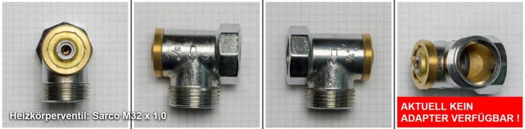 Heizkörperventil Sarco M32 x 1,0 - Quelle: eQ-3 AG/Staudigl
