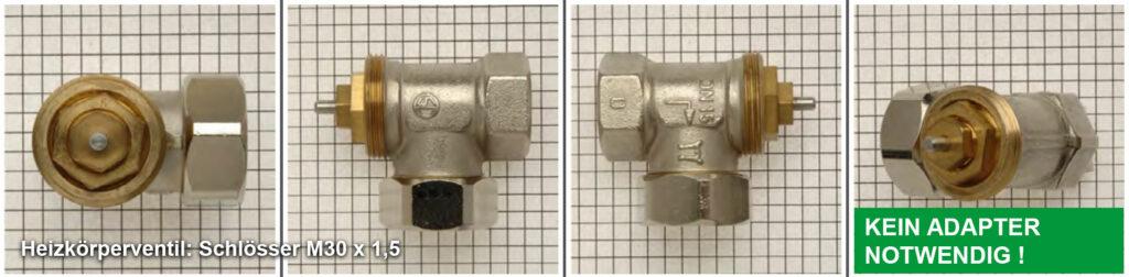 Heizkörperventil Schlösser M30 x 1,5 - Quelle: eQ-3 AG/Staudigl