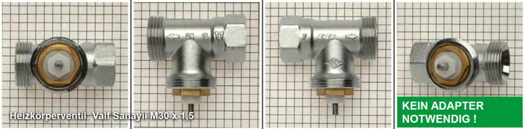 Heizkörperventil Valf Sanayii M30 x 1,5 - Quelle: eQ-3 AG/Staudigl