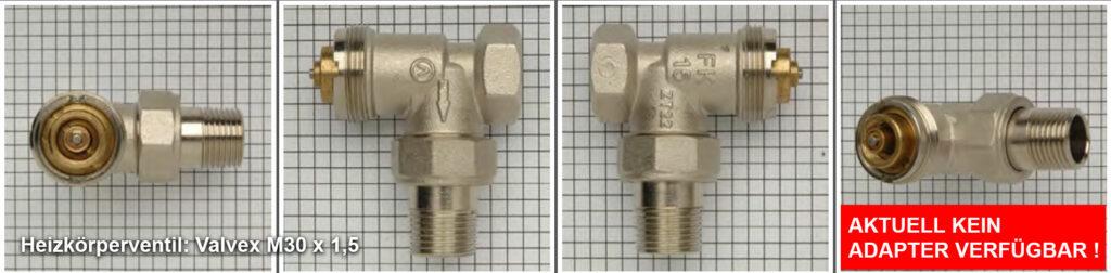 Heizkörperventil Valvex M30 x 1,5 - Quelle: eQ-3 AG/Staudigl