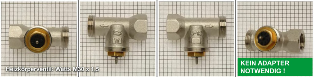 Heizkörperventil Watts M30 x 1,5 - Quelle: eQ-3 AG/Staudigl