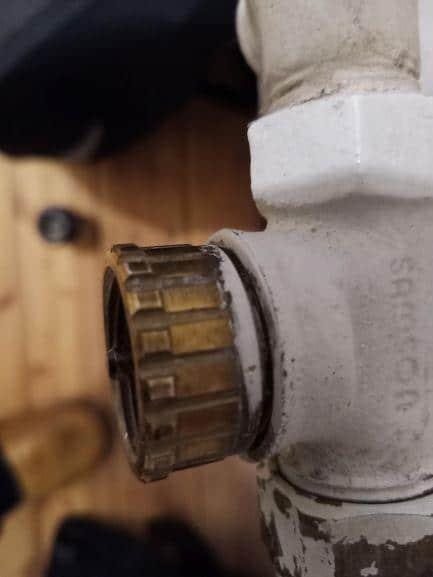 Heizkörperventil Samson 29,5 mm, 20 Kerben - Quelle: Jürgen aus Kommentaren