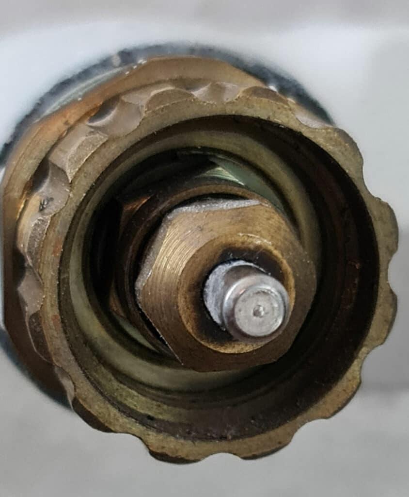 Gampper Ventil M20 über 10mm Tiefe, 12 Kerben, Quelle: André Bode per E-Mail