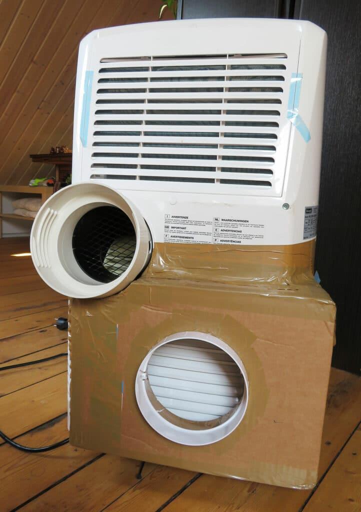 Umbau mobile Klimaanlage - Fertige Zweischlauchklimaanlage - 03